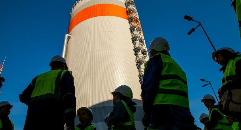 Ciekawostki, powstaje ciepło energia elektryczna drzwi otwarte elektrociepłowni Toruń - zdjęcie, fotografia