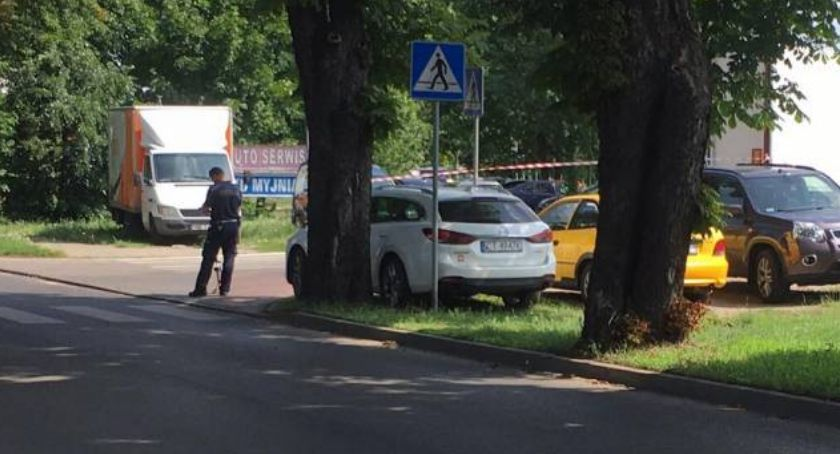 Wypadki, Śmiertelny wypadek Toruniu żyje letni mężczyzna [FOTO] - zdjęcie, fotografia