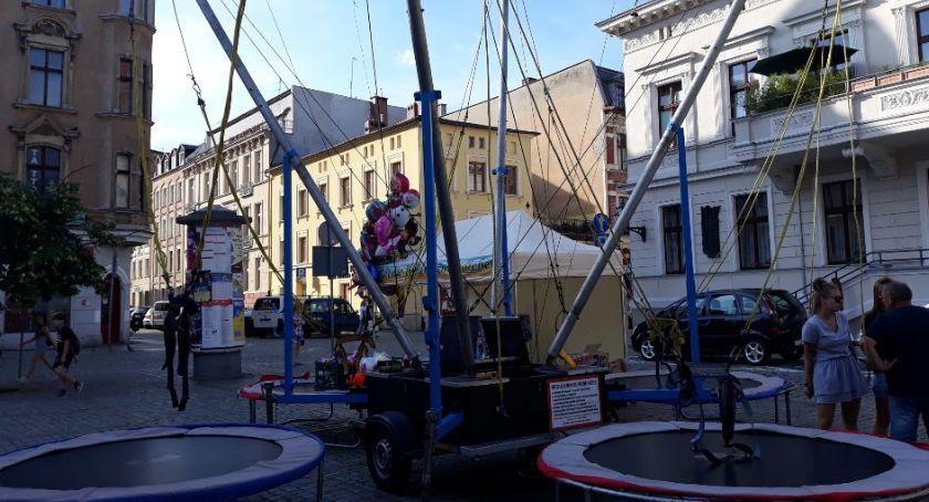 Wydarzenie, Początek wakacji może nudny atrakcji Jarmarku Katarzyńskim Toruniu [FOTO] - zdjęcie, fotografia