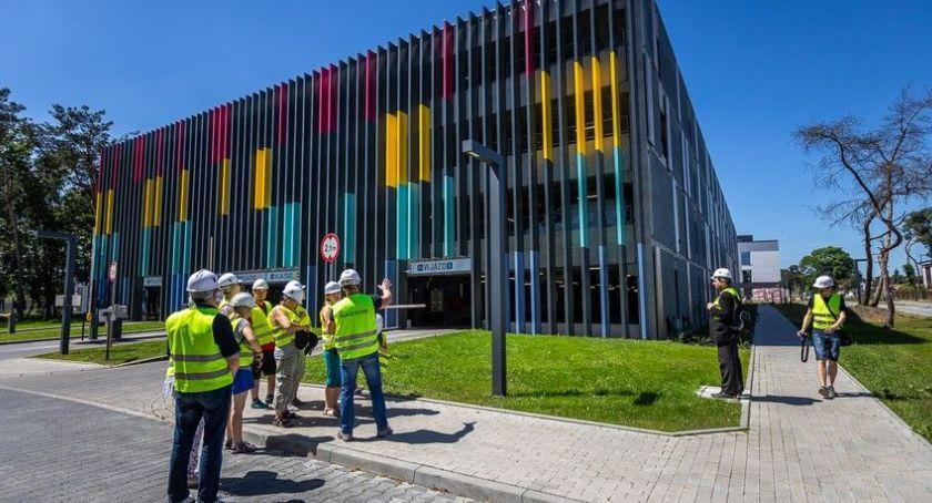 Kujawsko-Pomorskie, dzień otwarty budowie Szpitala Zespolonego Toruniu - zdjęcie, fotografia