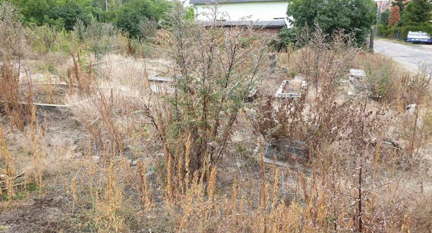 Wiadomości, Opuszczony cmentarz Stawkach Mieszkańcy zbulwersowani widokiem [FOTO] - zdjęcie, fotografia