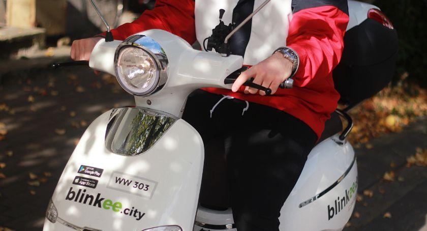 Inwestycje, Toruniu pojeździmy elektrycznymi skuterami minuty![FOTO] - zdjęcie, fotografia