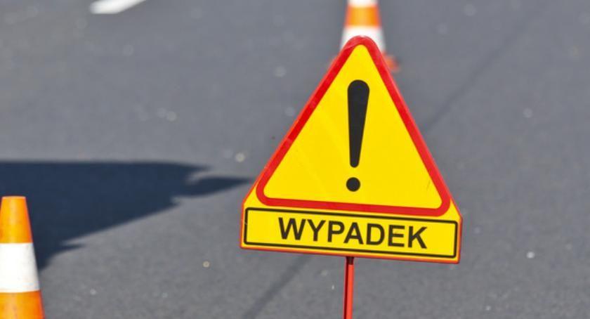 Wypadki, Wypadek Toruniem Zderzyły samochody! [PILNE] - zdjęcie, fotografia