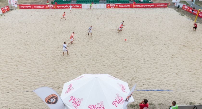 Inne dyscypliny, Toruńska Beach Soccera półmetku - zdjęcie, fotografia
