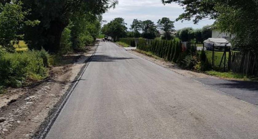 Drogi, Drogi gminie Łysomice zmienią ponad - zdjęcie, fotografia