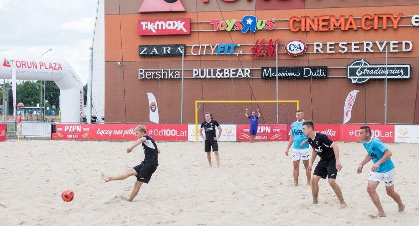 Inne dyscypliny, Toruńska Beach Soccera wkracza decydującą fazę - zdjęcie, fotografia