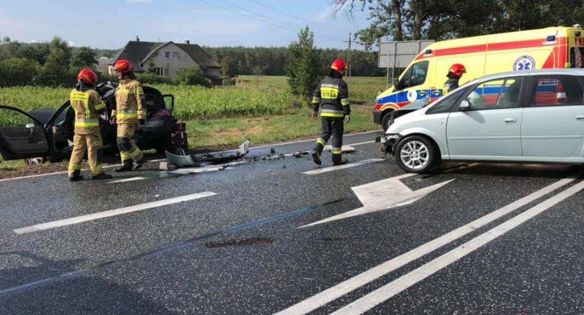 Wypadki, Wypadek trasie Toruń Bydgoszcz Jedna osoba szpitalu! [FOTO] - zdjęcie, fotografia