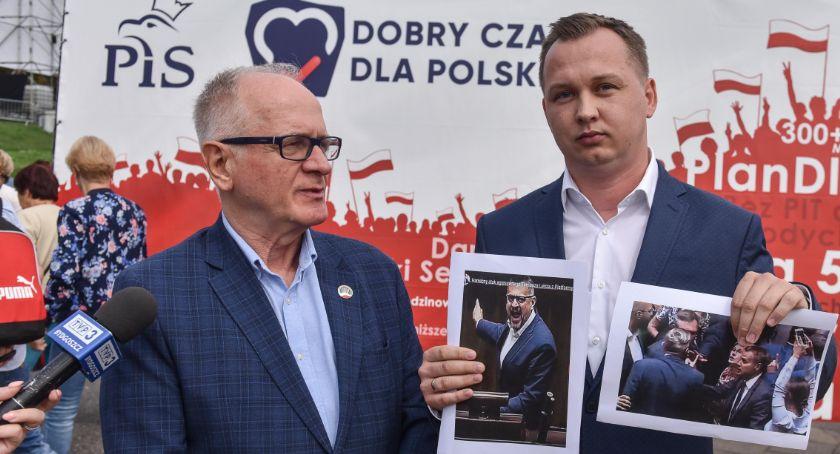 Partie Polityczne, Mariusz Kałużny Tomasz zatrudniał hejterów którzy atakowali Michała Zaleskiego - zdjęcie, fotografia