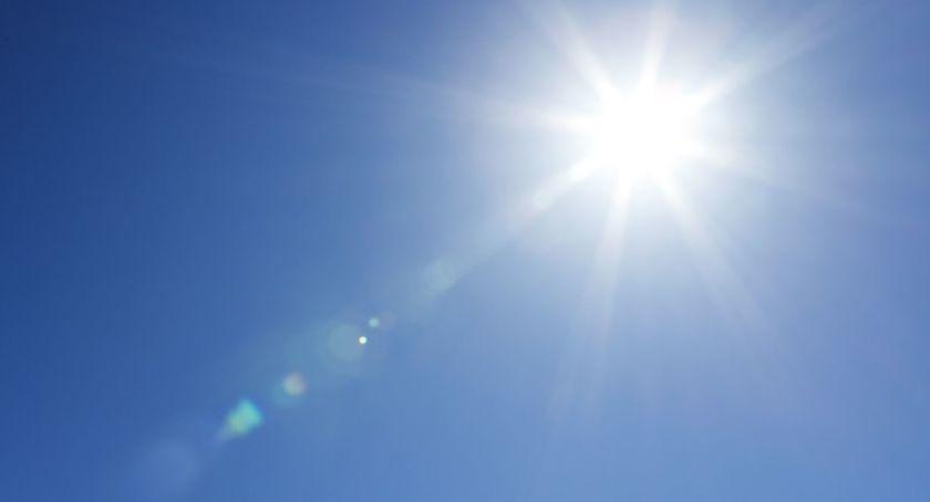 Pogoda, Upalna słoneczna końcówka wakacji Toruniu! - zdjęcie, fotografia