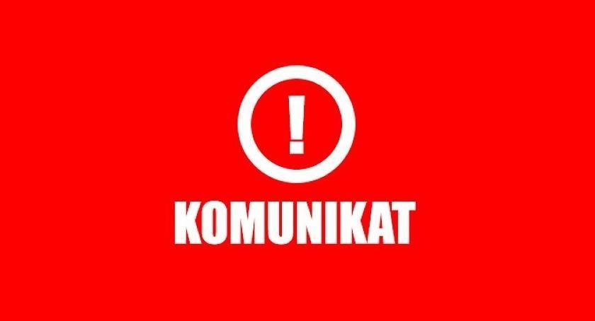 Komunikaty, Uwaga! Ważny komunikat Toruń ciepłej kranach - zdjęcie, fotografia