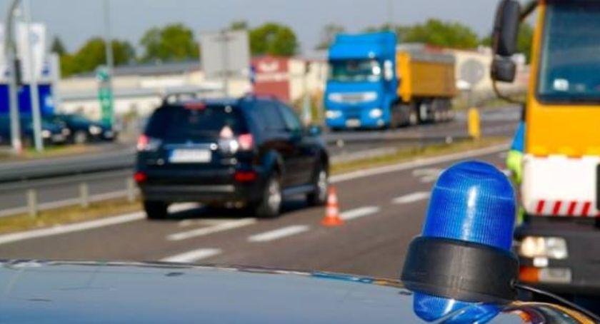 Wypadki, Śmiertelny wypadek trasie Toruń Bydgoszcz - zdjęcie, fotografia