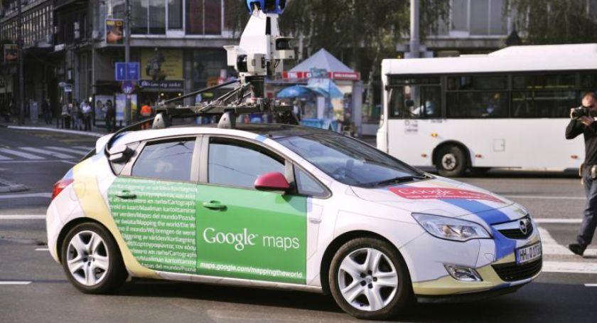 Ciekawostki, Oryginalny samochód Google specjalną wizytą Toruniu - zdjęcie, fotografia