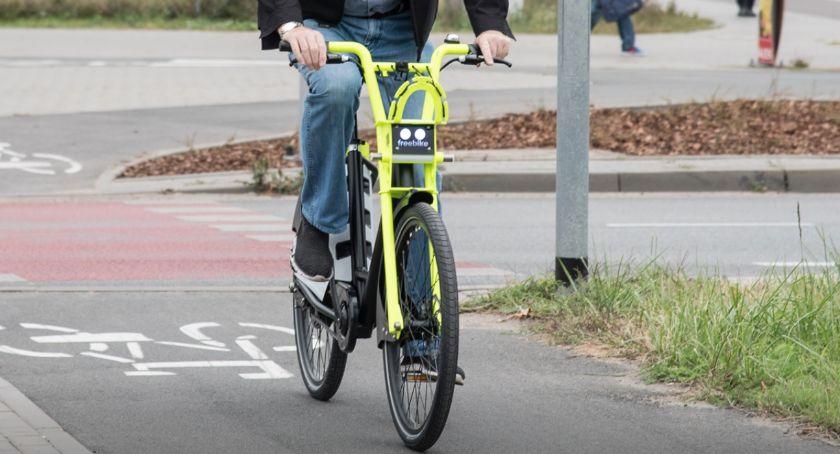 Komunikacja miejska, Elektryczne rowery dostępne mieszkańców Torunia - zdjęcie, fotografia