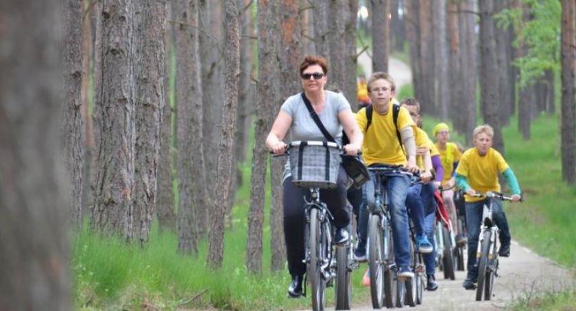 Inwestycje, Toruniem rozpoczęła budowa kilkukilometrowej drogi rowerowej - zdjęcie, fotografia
