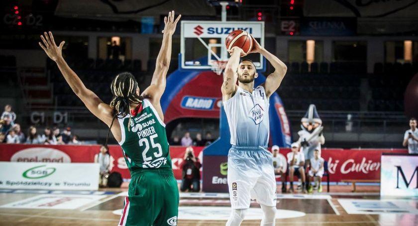 Koszykówka, Derby Torunia Hornsby rozbił Astorię! - zdjęcie, fotografia
