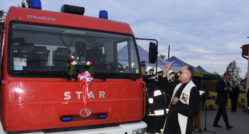 Straż pożarna, Strażacy ochotnicy gminy Obrowo otrzymali bojowy [FOTO] - zdjęcie, fotografia