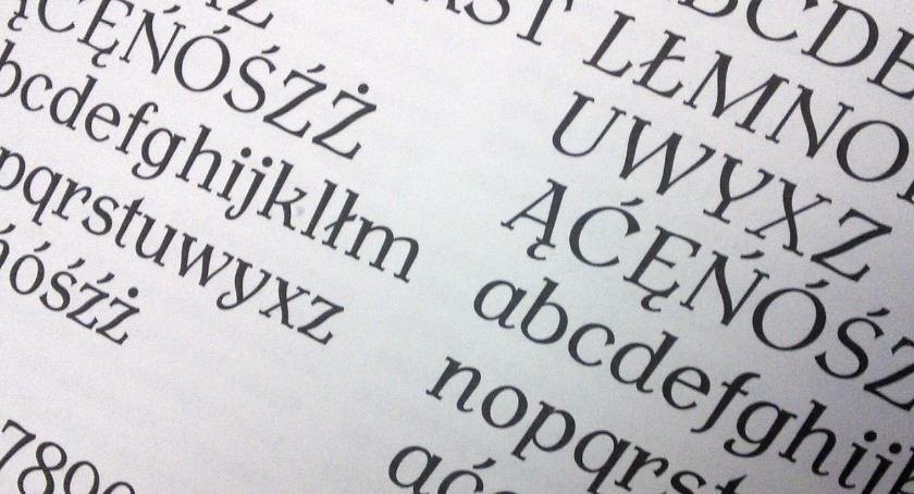 Ciekawostki, Toruń własny krój pisma powstała Antykwa Toruńska - zdjęcie, fotografia