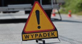Groźny wypadek na trasie Toruń-Bydgoszcz [akt.]
