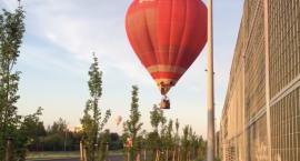 Balon wylądował... na Średnicówce! [WIDEO]