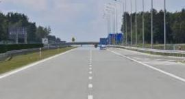 Wypadek na autostradzie w Toruniu!