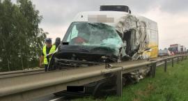 Wypadek w Kowalewie. Kierowcy w szpitalu. Są utrudnienia [FOTO]