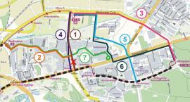 Linia tramwajowa na Rubinkowo. Jest siedem wariantów [MAPKA]