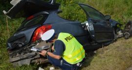 Jedna osoba ranna w wypadku pod Toruniem [FOTO]