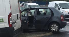 Wypadek przy wiadukcie Kościuszki. Są ranni! [FOTO]