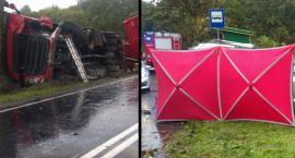 Tragiczny wypadek na drodze Toruń - Brodnica. Zobacz zdjęcia! [FOTO]