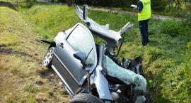 Nie żyje kierowca, który uczestniczył w wypadku pod Toruniem [FOTO]