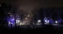Uwaga! Pożar na Ligi Polskiej w Toruniu