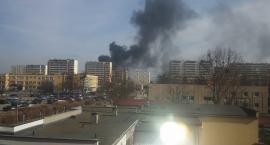 Czarny dym nad Rubinkowem. Co się dzieje?