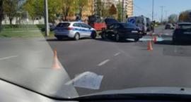 Wypadek w Toruniu. Jedna osoba trafiła do szpitala!