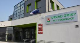 Zbliża się oficjalne otwarcie nowej siedziby gminy Łysomice [FOTO]