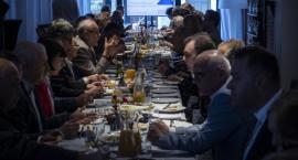Prezydent Zaleski spotkał się na śniadaniu z przedsiębiorcami