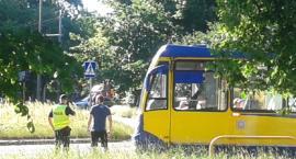 Rowerzystka wjechała pod tramwaj [PILNE]
