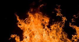 Pożar na wysypisku śmieci w Toruniu!