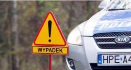 """Kolejny śmiertelny wypadek na DK91. Motocyklista zderzył się z """"osobówką"""""""