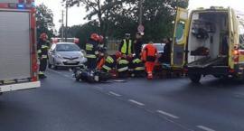 Wypadek na ul. Przy Skarpie. Trwa akcja służb ratunkowych [PILNE]