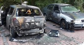 Uwaga! W Toruniu grasują podpalacze samochodów. Policja zatrzymała pierwszego podejrzanego [FOTO]