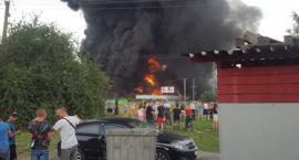 Duży pożar pod Toruniem. Trwa akcja, są utrudnienia! [FOTO]