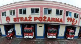 Pożar w Toruniu. Trwa akcja gaśnicza