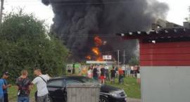 Pożar w Głogowie. Są wyniki kontroli Inspektoratu Ochrony Środowiska
