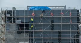 Za nami 600 dni budowy szpitala na Bielanach. Jak wyglądają postępy? [FOTO]