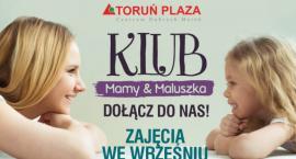 Spotkania i zajęcia ruchowe. Zajrzyj do Klubu Mamy&Maluszka w CH Toruń Plaza
