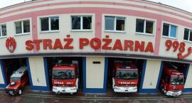 Pożar pod Toruniem, doszło do wybuchu! Trwa akcja gaśnicza