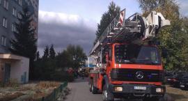 Akcja strażaków na toruńskim Rubinkowie [FOTO, WIDEO]