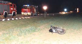 Śmiertelny wypadek na DK 91. Nie żyje 46-letni motocyklista [FOTO]