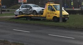 Dachowanie samochodu. Groźne zdarzenie w Toruniu [FOTO]