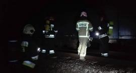 Uwaga! Pożar w składzie pociągu pod Toruniem [PILNE]